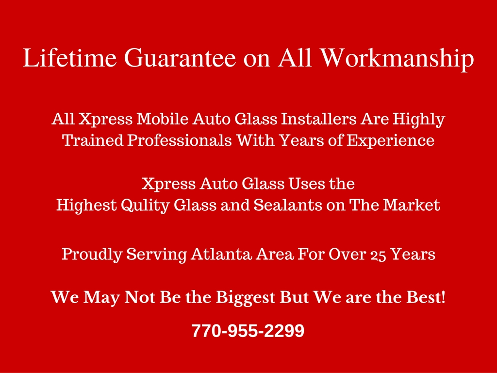 auto glass guarantee