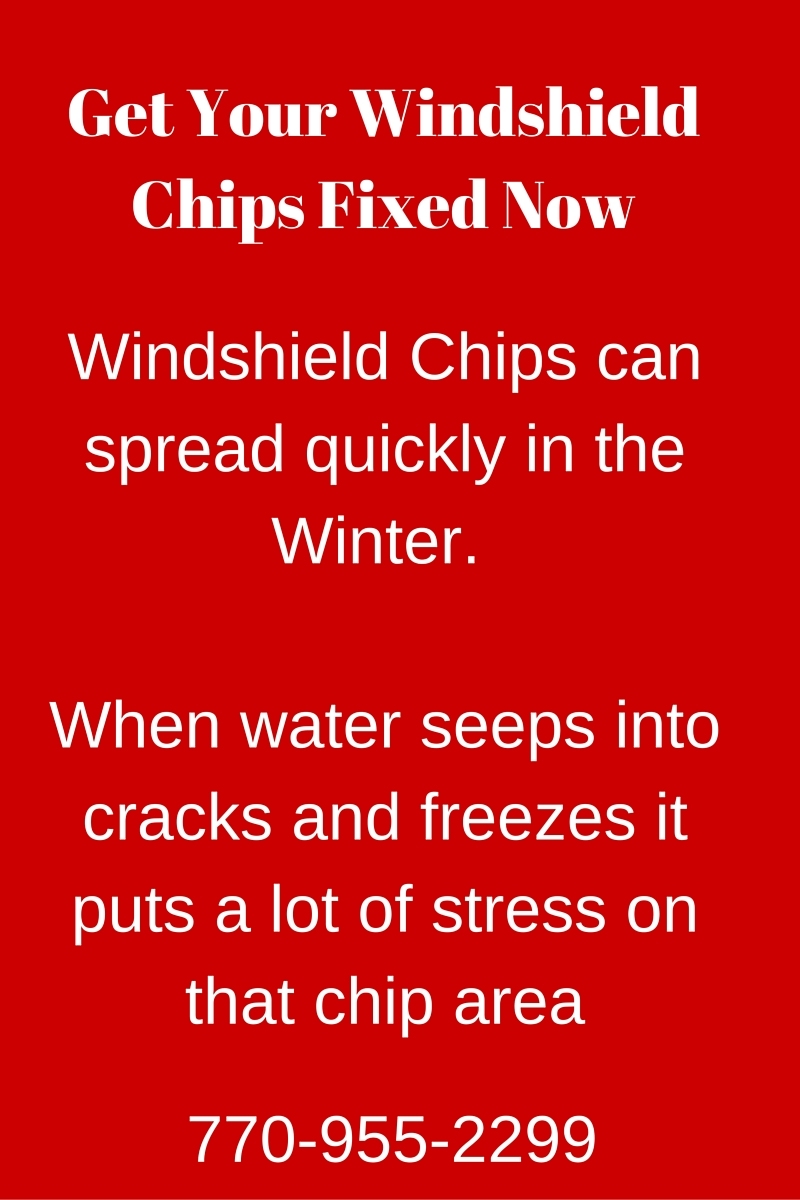 chips in windshield problems